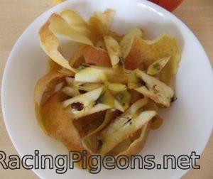 обелки от ябълки